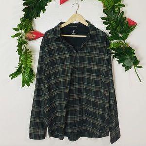 Kuhl men's plaid flannel button-down size XL